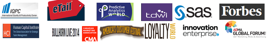 Engaging and entertaining speaker in Big Data and Advanced Business Analytics conferences and workshops.